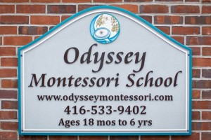OMS Christie School Sign